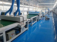 QX Coating Production Line With One-board of Heat Preservation and Decoration Integration System